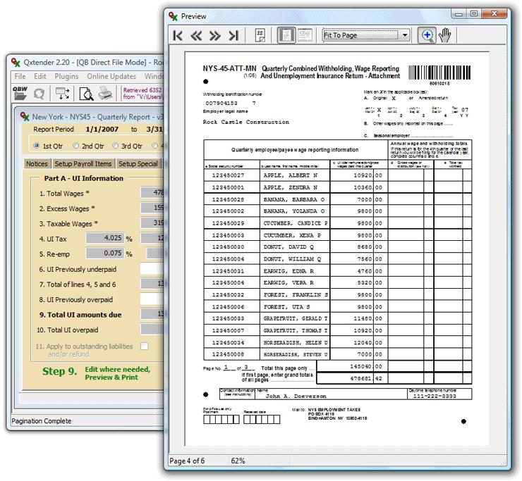 Qtools Software - Qxtender Screen Shots